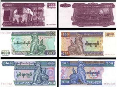 kyat-currency